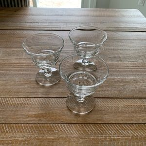 Other - Dessert Clear Glasses